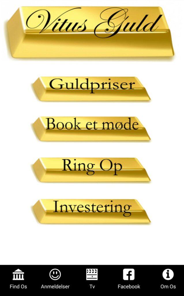 Vitus Guld App se guldpriser i vores app