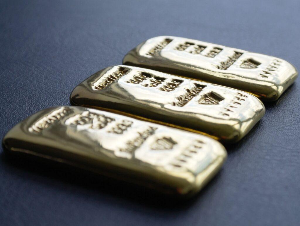Investering i guld via guldbarre