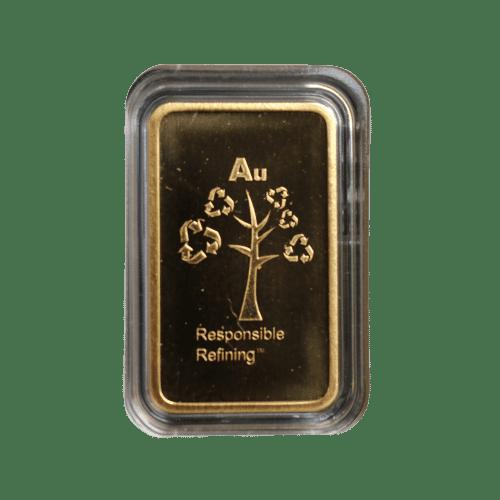5 gr guldbarre fra Metalor - Køb dine guldbarrer hos Vitus Guld - En sikker investering