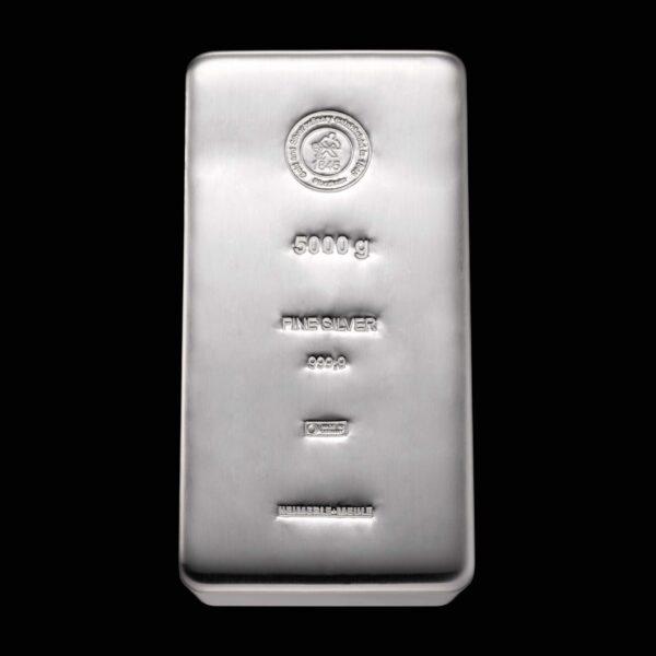 Vitus Guld webshop investeringsprodukter i sølv Heimerle Meule nyproduceret sølvbarre med certifikat sikker professionel handel sølvbar i høj kvalitet