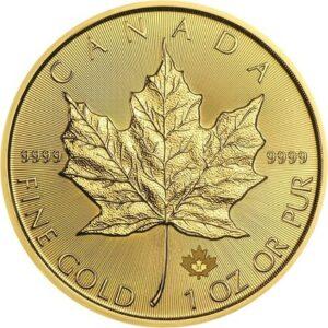 Maple leaf 1 oz guld Vitus Guld -Danmarks Førende guldhandler af guldmønter