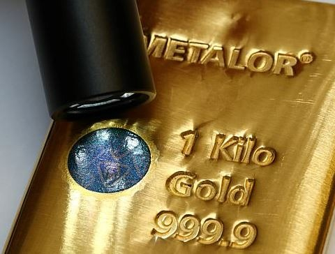QR Kode 1 kg guldbarrer fra Metalor Schweiz - Vitus Guld