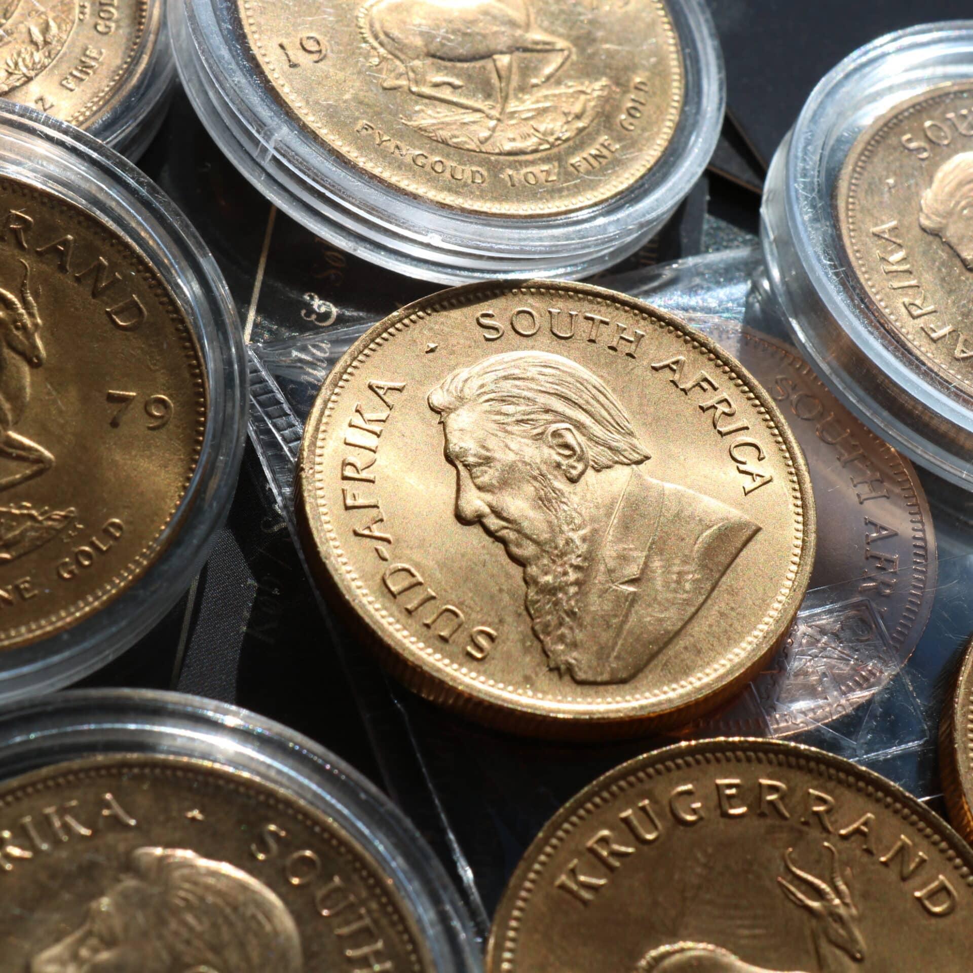 pr mønter guldpriser