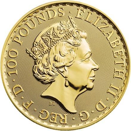 Guld brittania 2021 - guldmønt 1 oz finguld 31,1 gr - køb guld hos Vitus Guld Danmarks Førende guldhandler