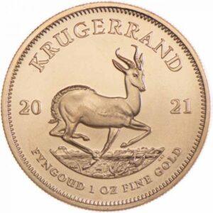 Sydafrikansk Krugerrand 1 oz Guldmønt - Vitus Guld Danmarks førende guldforhandler af guldmønter