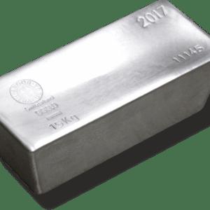 Vitus Guld webshop fysisk investering i sølv Nyproduceret sølvbar med certifikat ægtheds garanti ægte sølv finsølv Argor Heraeus Anerkendt leverandør Schweizisk leverandør af ædelmetaller sikker professionel handel 15 Kg. 15000 gr.