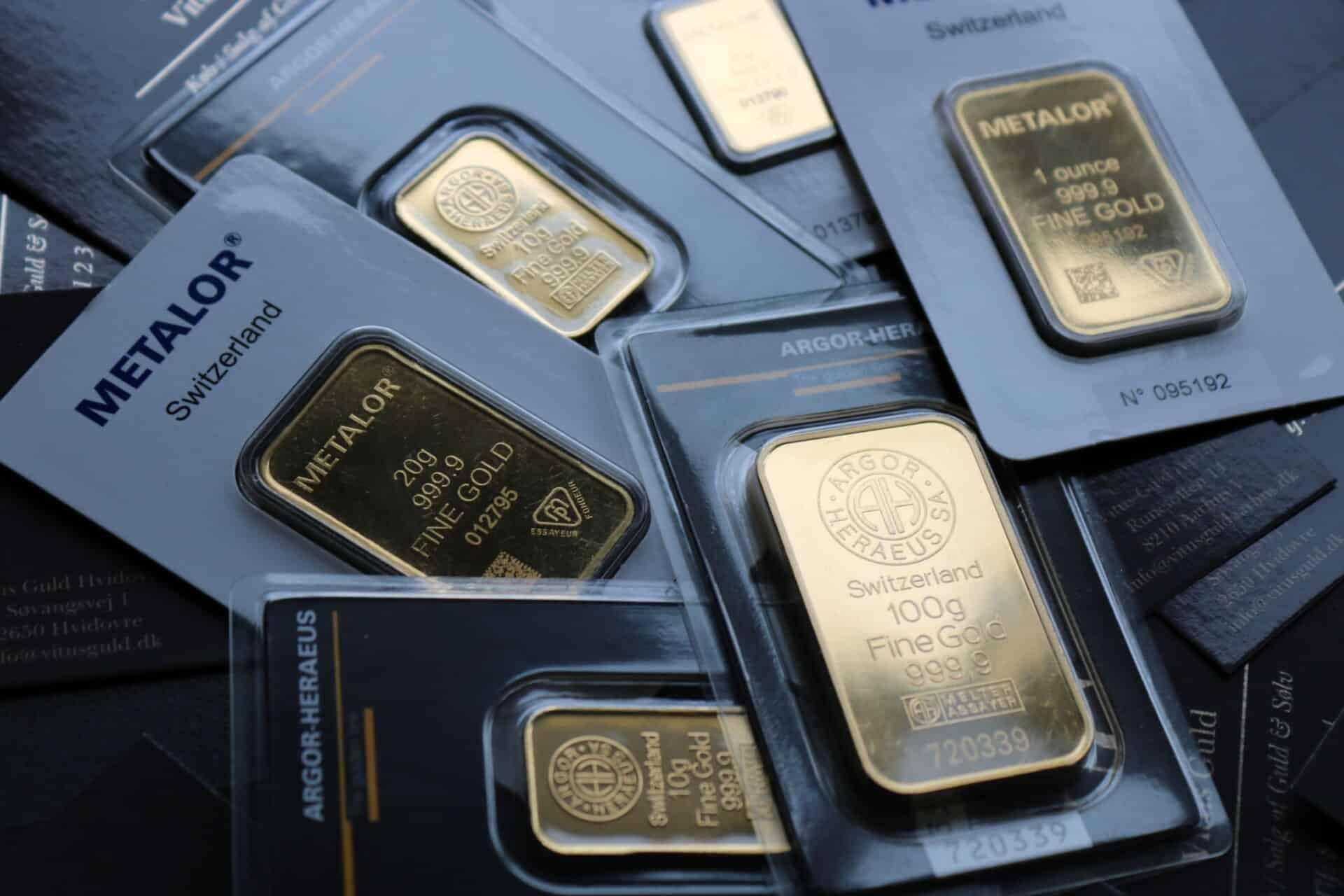 hvad er prisen på guld