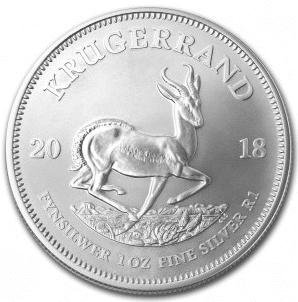 Den berømte sølvmønt Krugerrand er ny og eftertragtet blandt investorer. Denne mønt blev fra år 2017 produceret i sølv der findes således kun 2 årstal indtil videre vitus guld