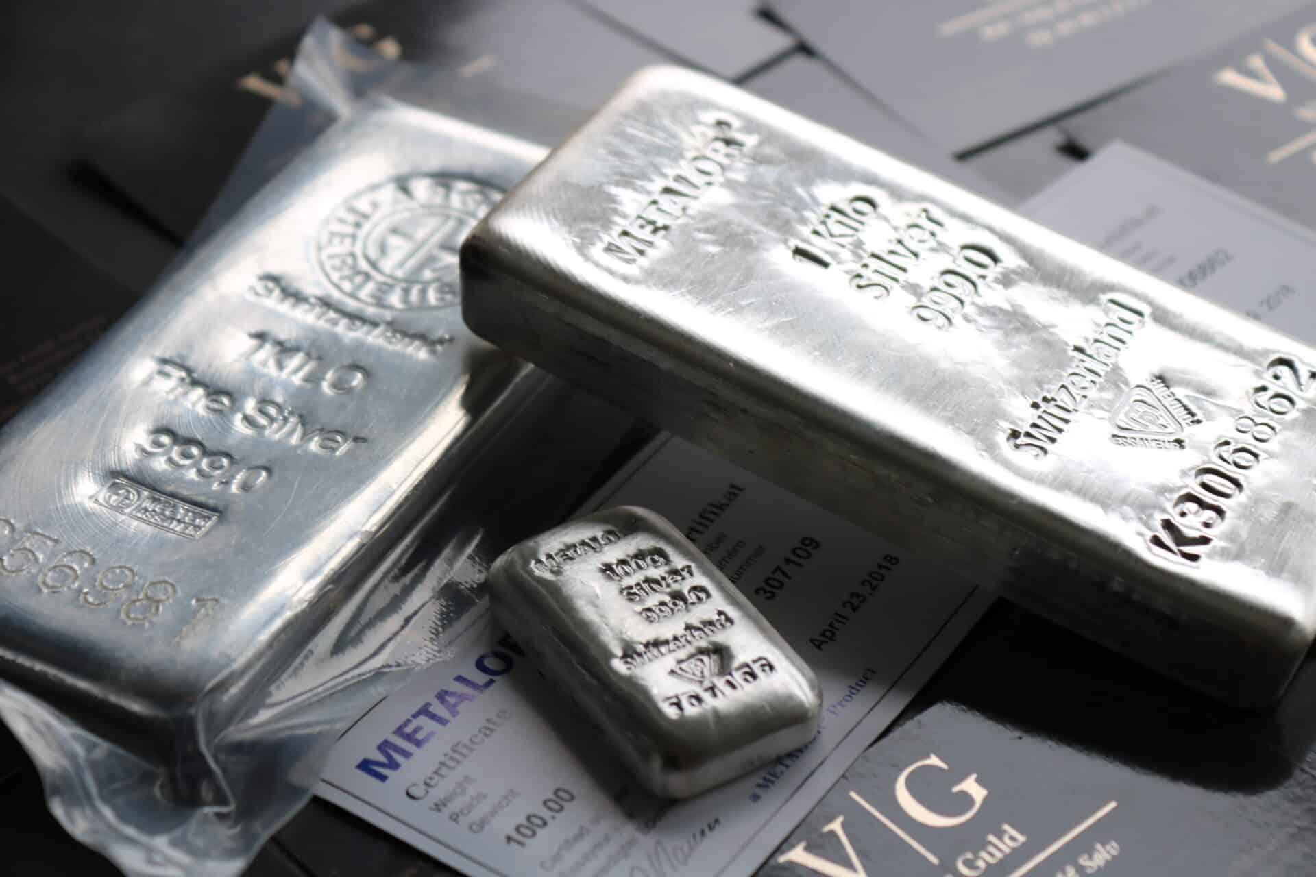 a95deec3086 Sølvbarre investering til markedets bedste priser hos Vitus Guld - Bestil  online