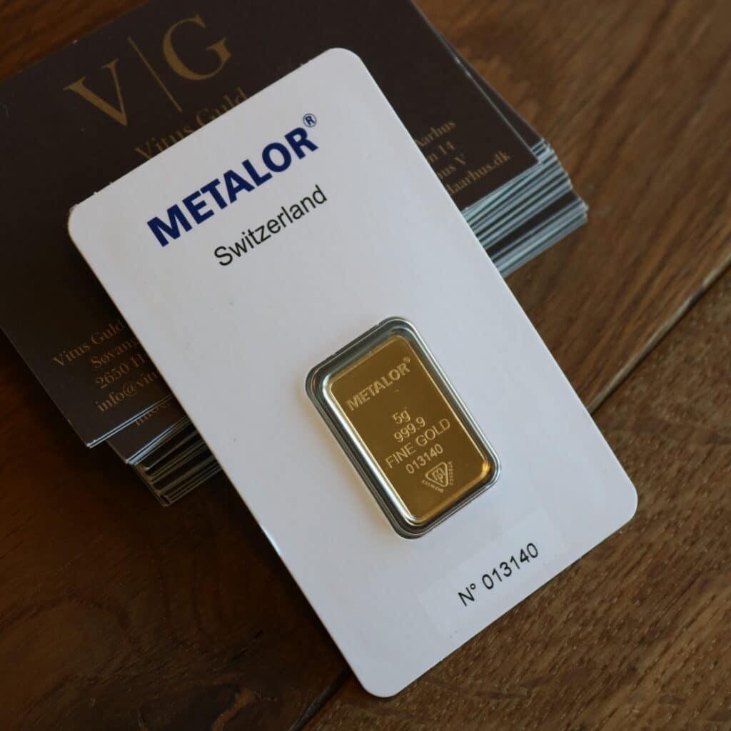 hvor meget er guld værd