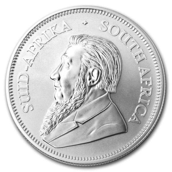 Silver Krugerrand 2019 - 1 oz 999 ‰, 31,1 gr. Finsølv