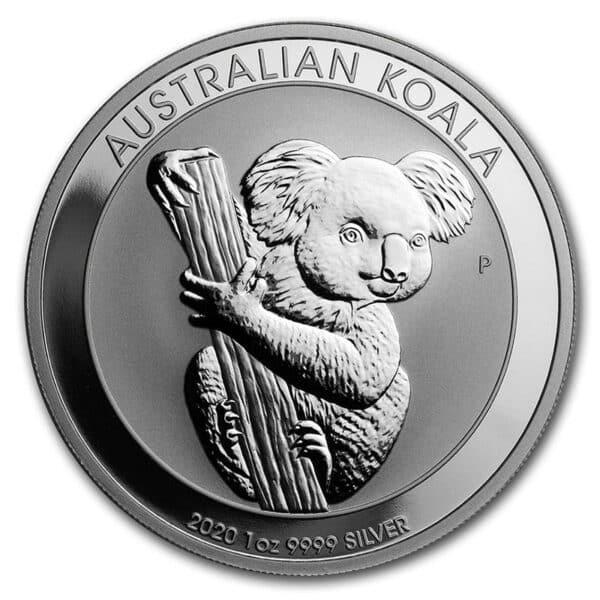Koala Sølv investerings mønt hos Vitus Guld. Finsølvs mønter 9999