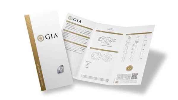 GIA certifikat Vitus Guld