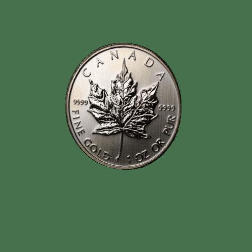 Canadian maple leaf 1 oz Tidlige årgange - Køb guldmønter hos Vitus Guld